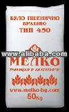 White wheat flour Type 450 pastry grade