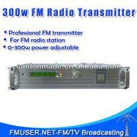FMUSER FSN-350 300W FM Radio Broadcast Transmitter 0-300w 100 watt fm transmitter FM Radio Station 25KM RL1