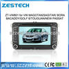A8 Chipset car navi vw TRANSPORTER(T5)/CADDY/AMAROK car dvd system HD 1080P 1G CPU 512M RAM 3G/ wifi/DVR (Option)