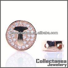 Acrylic Jewelry Accessorie Diy Letter Beads Shamballa Bracelet Beaded Bags