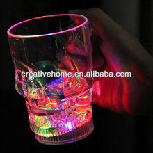 400ml Skull Style Multicolored LED Flashing Light Up Beer Mug