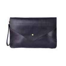 2013 fashion pu brand envelope clutch bag