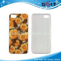 Beautiful Flower Design 3D Hard Case for iphone 5