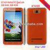 rooted already MTK6589 Android 4.2 Quad Core 6 inch smartphone