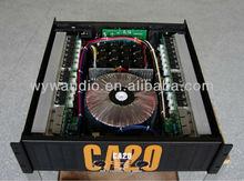 dj power amplifier, CA20,12 pair tube, 4 fans