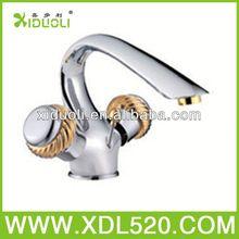 traditional lavatory faucet/two handle mixers/shape bathroom wash basins