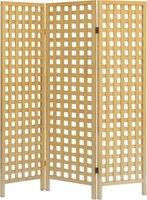 homedecor wooden folding screen / room divider