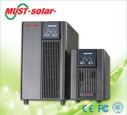 <MUST Solar>LCD display True Online UPS/ups inverter vrla battery