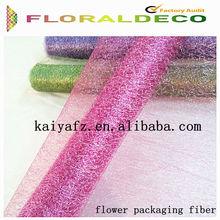 flower packaging fiber