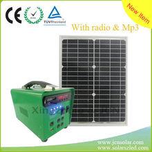 Radio Mp3 Solar home system Iron solar generator OEM