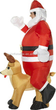 cheap inflatable christmas costume for men