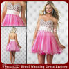 LA172 Hot Sale Popular Sexy And Cute Puffy Organza Skirt Sweetheart Backless Party Dress