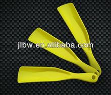 15cm plastic shoehorn for shoe easy use print customer's logo