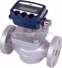 High accuracy digital flow meter indication made in Japan