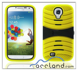 3in1 Dual Layer Stand 3D Silicone Rugged Case for Samsung Galaxy S4 i9500