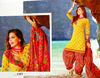 Designer Punjabi suit material - Printed cotton dress material - Wholesale salwar kameez @ USD 12.00