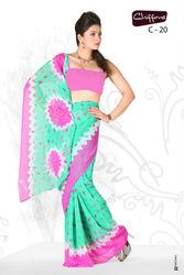 Jorjet Printed sarees