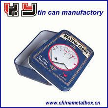 Poker Card Tin Can