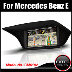 """OEM 7"""" in dash double din auto radio player gps navigation bluetooth touch screen head unit for mercedes benz E220 CDI"""
