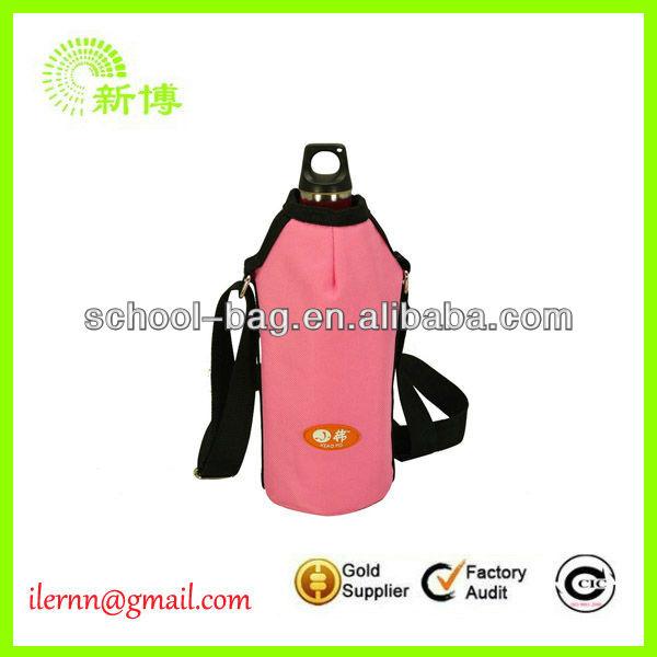 Custom-made water bottle cooler bag