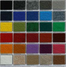 Colorful non woven exhibit carpet needle felt