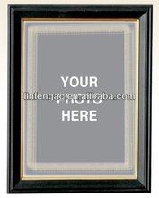 Beautiful high-end MDF polyurethane glitter mirror frame
