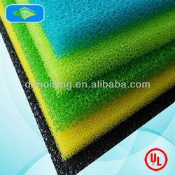 Flame retardant polyurethane filter 15 20 30 PPI foam