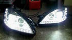 S-Class W221 FACELIFT RESTYLING HEADLIGHTS for 05-08 models +++ PLUG & PLAY +++