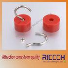 rubber coat female thread pot magnet Ndfeb