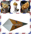 Fast Food Paper Cone&Holder For Fries&Snack