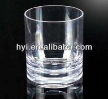 plastic 400ml acrylic mug/glass