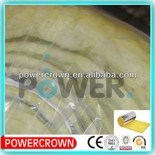 Aluminum Foil Insulation Glass Wool/ Glass wool blanket packaging,glass wool thermal insulation/glass wool production line