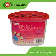 Calcium chloride particles interior dehumidifier box