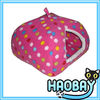 Pink Small Spots Yurt Dog House Dog Cage Pet House