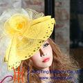 tela damas sombreros de la iglesia