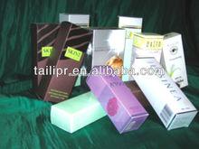 Cosmetic Carton Box with Metallic Paper
