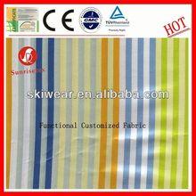 hotsale functional awning fabric white blue stripe