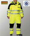 poliestere 300d oxford alta visibilità impermeabile lavoro invernale tuta