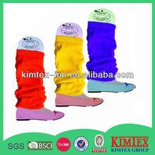 Acrylic plain leg warmers