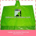 Disposable Custom Printed Rain Ponchos