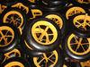 3.50-8 French rim solid wheel