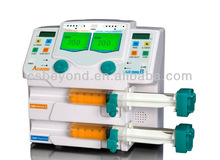 Micro Hospital Syringe Pump Double Channel with Drug Library BYZ-810TU