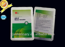 Veterinary Medicine Vitamin AD3E Soluble Powder