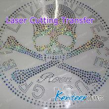 Fashion Laser Cut Transfer Hot Sale / Laser Cutting Transfer Logo