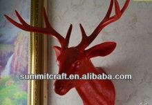 Custom plastic red deer with angle head