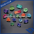Various Shapes Colorful Loose Zirconia Stone Beads