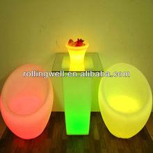 outdoor garden sofa/furnishing color changing led sofa/illuminated sofa