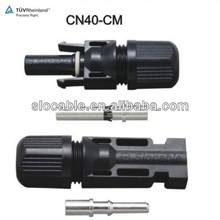 TUV/CE approved IP67 50A rated current MC4 connector set for solar energy