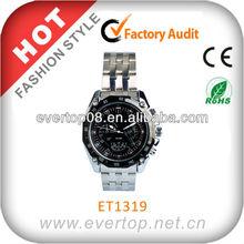 2014 trendy Men's stainless steel watch