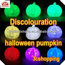 Halloween plastic LED pumpkin artificial pumpkin